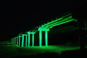 蓬莱橋 緑